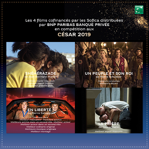 Nominations au César 2019 - Films